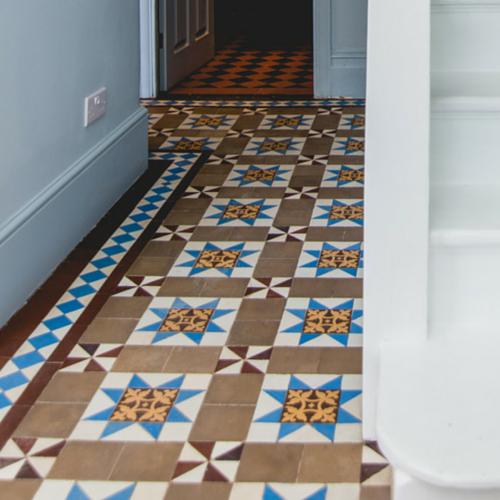 Victorian Floor Restoration Restore Geometric Floor Tiles To