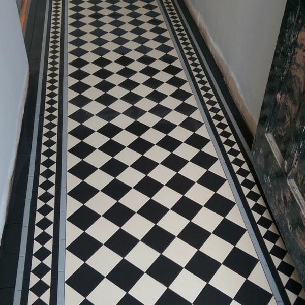 Victorian Tiled Floor Restoration By Paul Johnson
