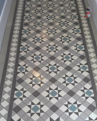 My Client Whose Floor Can Be Seen Below Went For A More Modern Grey Colour Scheme To Her Which Ed Beautifully Within